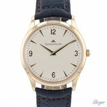 Jaeger-LeCoultre Master Ultra Thin Ouro rosa 38mm Champanhe Árabes