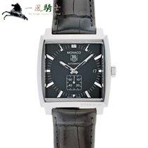 TAG Heuer Monaco Calibre 6 Steel 37mm Black United States of America, California, Los Angeles