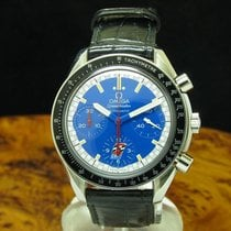 Omega Speedmaster Reduced Acero 39mm Azul