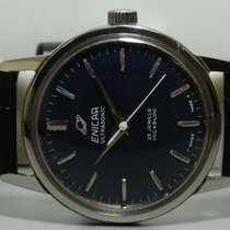 Enicar Steel 34mm Manual winding k757 pre-owned India, Mumbai