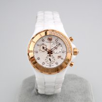 Technomarine Cruise Ceramic 40mm White No numerals