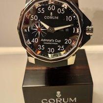 昆仑 Admiral's Cup Competition 48 鈦 48mm 黑色 阿拉伯數字