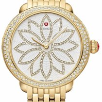 Michele Serein MICHELE SEREIN DIAMOND GOLD FLOWER DIAMOND DIAL MWW21A000056 nieuw