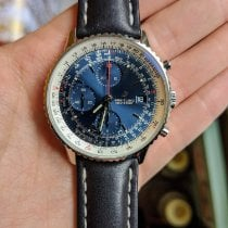 Breitling Navitimer Heritage Acero 41mm Azul