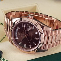 Rolex Day-Date 40MM 18k Everose Gold