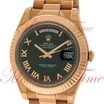 Rolex Day-Date II 218235 bkrp occasion