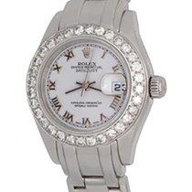 Rolex Lady-Datejust Pearlmaster White gold 28mm White Roman numerals United States of America, Texas, Dallas