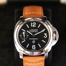 沛納海 PAM01005  Luminor Marina Logo Acciaio (PROMOTION)