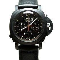 Panerai Luminor 1950 8 Days Chrono Monopulsante GMT PAM 00317 2015 pre-owned