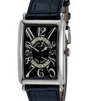 Franck Muller 1100 Long Island Automatic Watch with Black Dial