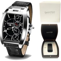 Eberhard & Co. NEW : Chrono 4 Temerario FULL SET black dial ...