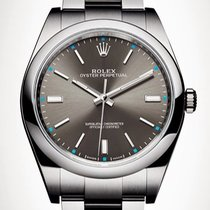 Rolex Oyster Perpetual 39mm Rhodium - 114300