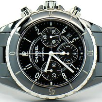 Chanel J12 Black Ceramic Chronograph 41mm Automatic Watch