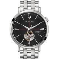 Bulova Classic 96A199 Bulova AUTOMATIC CLASSIC Acciaio Nero 41mm 2020 новые