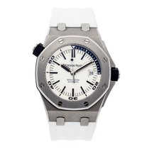 Audemars Piguet Royal Oak Offshore Diver Steel White Boutique...
