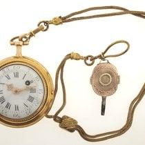 L.르로이 옐로우골드 수동감기 중고시계