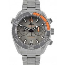 Omega Seamaster Planet Ocean Chronograph Titanium 45.5mm Grey