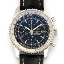 Breitling A2432212/B726 Steel Navitimer World 46mm pre-owned United States of America, California, Newport Beach