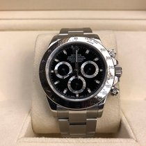 Rolex Daytona 116520 Stainless Steel Black Dial