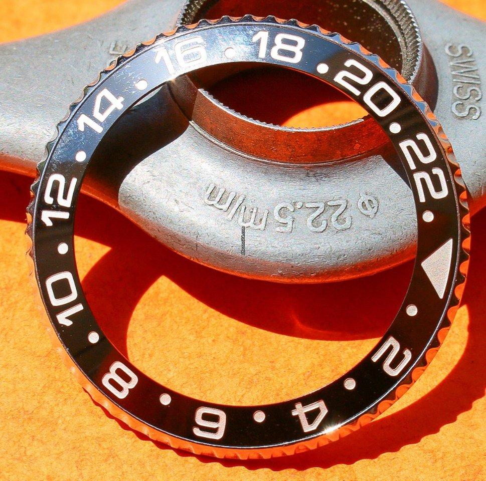 Rolex GMT MASTER CERAMIC 116710 LN BEZEL INSERT 24H COMPLETE SET