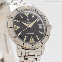 Zodiac Steel 36mm Automatic 722-946 pre-owned
