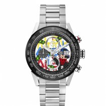 TAG Heuer CAR201AA.BA0714 Steel 2018 Carrera Calibre HEUER 01 new United States of America, Florida, Boca Raton