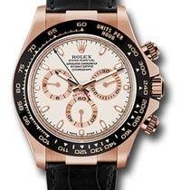 Rolex Daytona Oro rosa 40mm Blanco