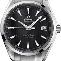 Omega 231.10.42.21.06.001 Stahl 2009 Seamaster Aqua Terra 41.5mm neu