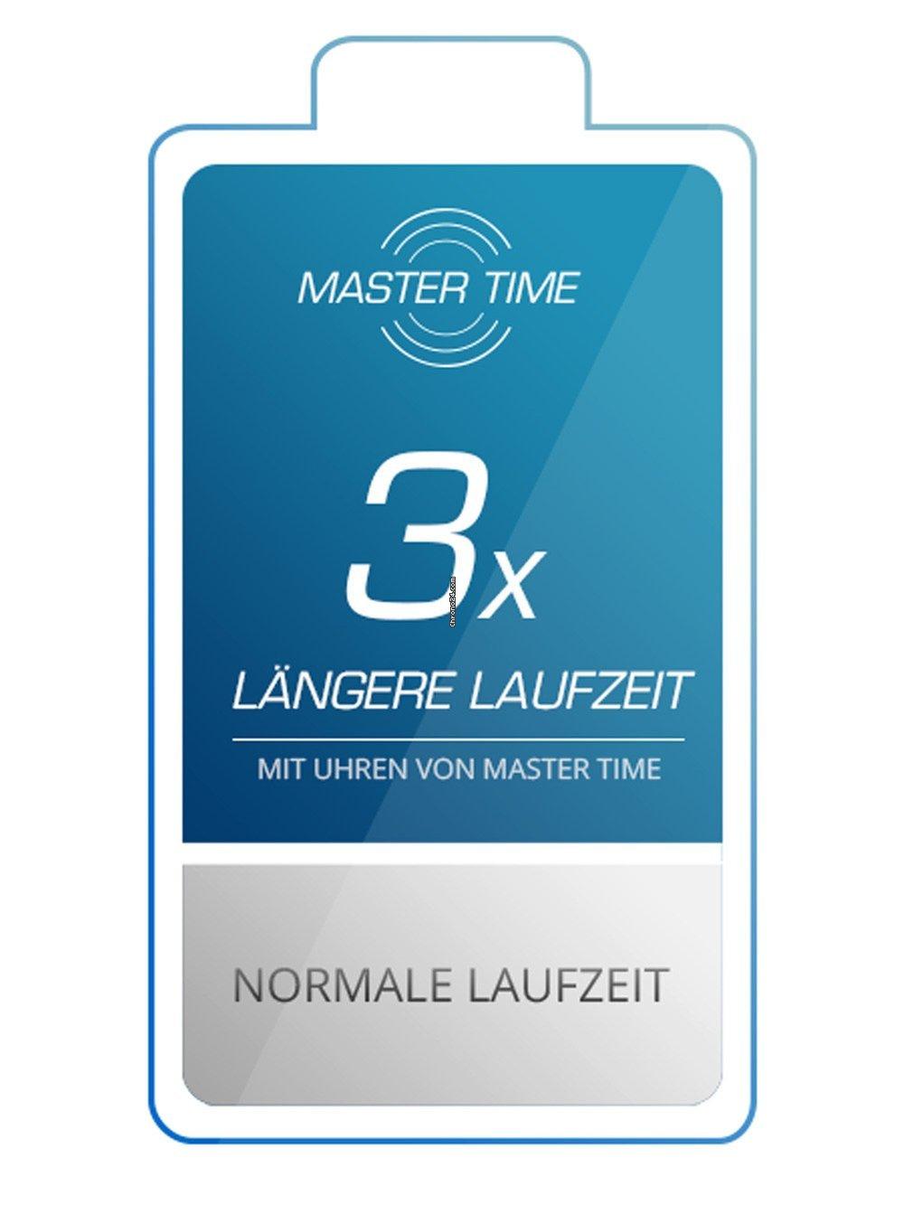 Series Time Specialist Mtgs Funk Herren Master 43mm 90 10552 12l Für qMUzpVS