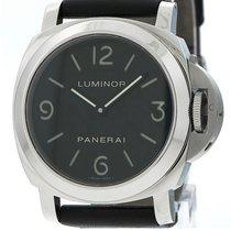 Panerai Luminor Base Steel 44mm Black Arabic numerals Australia, balwyn north