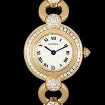Cartier Жёлтое золото 24mm Кварцевые подержанные