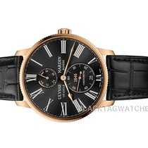 Ulysse Nardin Red gold Automatic Black Roman numerals 42mm new Marine Torpilleur