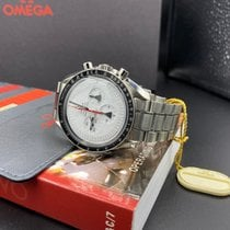 Omega Speedmaster Professional Moonwatch Acero 42mm Blanco Sin cifras