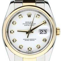 Rolex Datejust 116203 İyi Altın/Çelik 36mm Otomatik
