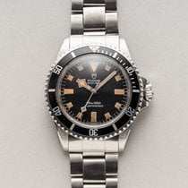 Tudor Submariner Stål 40mm Svart