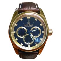 Deep Blue Gold/Steel 45mm Automatic new