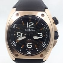 Bell & Ross Marine BR02 18k Rose Gold Carbon Dial