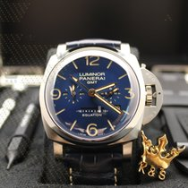 沛納海 PAM00670 LUMINOR 1950 EQUATION OF TIME 8 DAYS GMT TITANIO