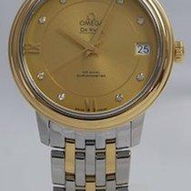 Omega De Ville Prestige 424.20.33.20.58.001-DE VILLE PRESTIGE 32,7mm.Quadrante Oro nuevo