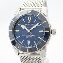 Breitling Superocean Heritage II 46 Steel 46mm Blue