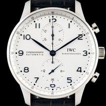 IWC Portuguese Chronograph Steel IW371446