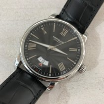 Montblanc Steel 42mm Automatic 115122 new