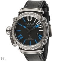 U-Boat U-1001 Titanium 47mm Black