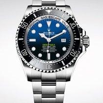 Rolex Sea-Dweller Deepsea Stal 44mm Bez cyfr