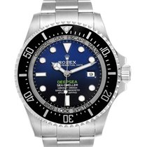 Rolex Sea-Dweller Deepsea Steel 44mm Blue No numerals United States of America, California, Los Angeles