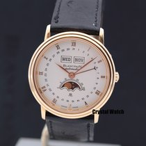 宝珀 34mm 自動發條 Villeret Moonphase 二手 臺灣, Taipei City