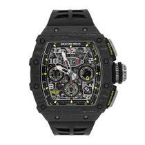 Richard Mille pre-owned Automatic 49.94mm Transparent Sapphire Glass 5 ATM