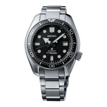 Seiko Tantalum Automatic Black 44mm new Prospex