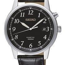 Seiko Kinetic Steel 40mm Black