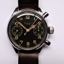 Hanhart Chronograaf 41mm Handopwind 1943 tweedehands